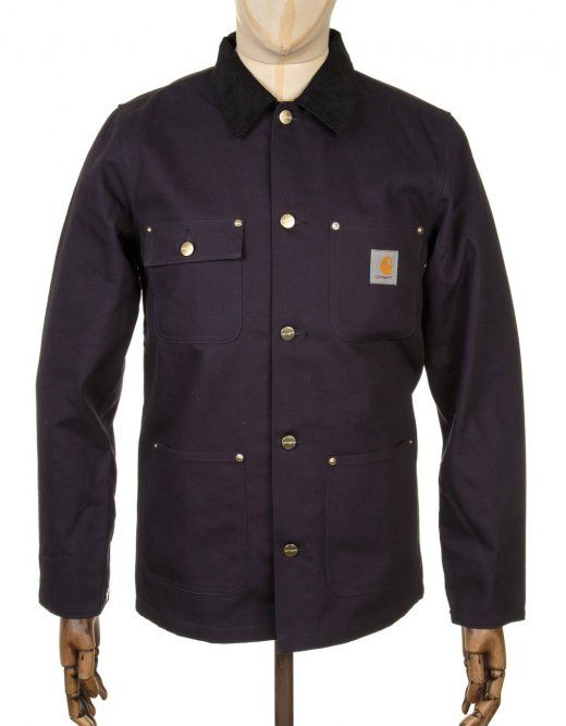 aea39f72721 Carhartt Michigan Chore Coat - Dark Navy | Carhartt Clothing ...