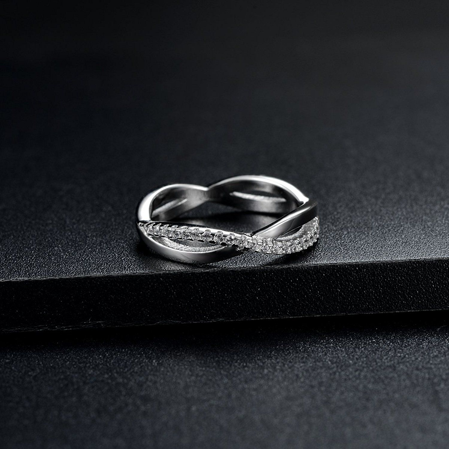 Engagement rings jewelry double infinity symbol band rings eternity engagement rings jewelry double infinity symbol band rings eternity cubic zirconia simulated diamond ring sterling biocorpaavc Image collections