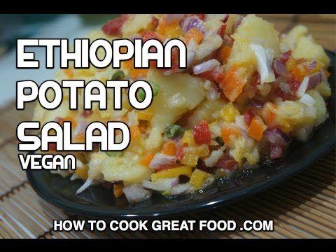 Ethiopian potato salad recipe dinich salata amharic vegan food ethiopian potato salad recipe dinich salata amharic vegan food youtube forumfinder Choice Image