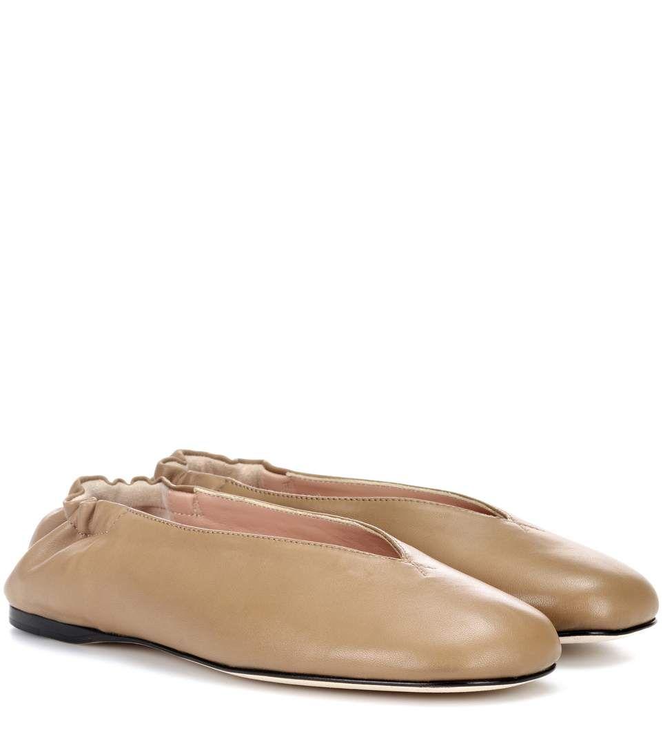 Acne Oddry leather ballerinas 4TaHfBO8X