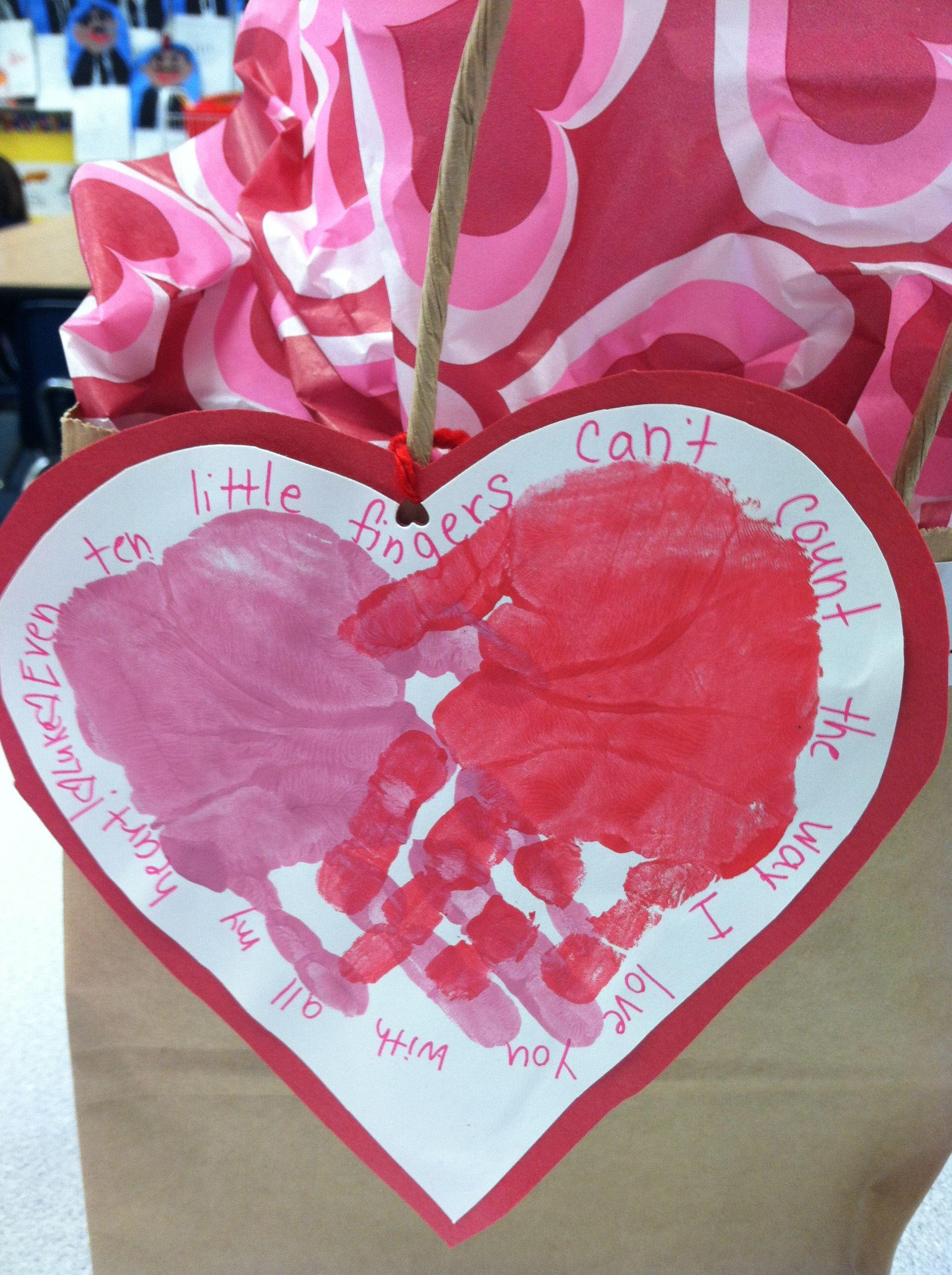 Valentine S Day Parent Gift Kindergarten Valentines Valentine Theme Parent Gifts