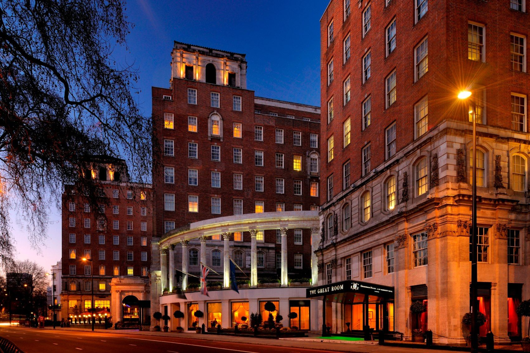 Grosvenor House London Was Originally Opened As An Art Deco Ice Skating Rink London Hotels Grosvenor House Marriott Hotels
