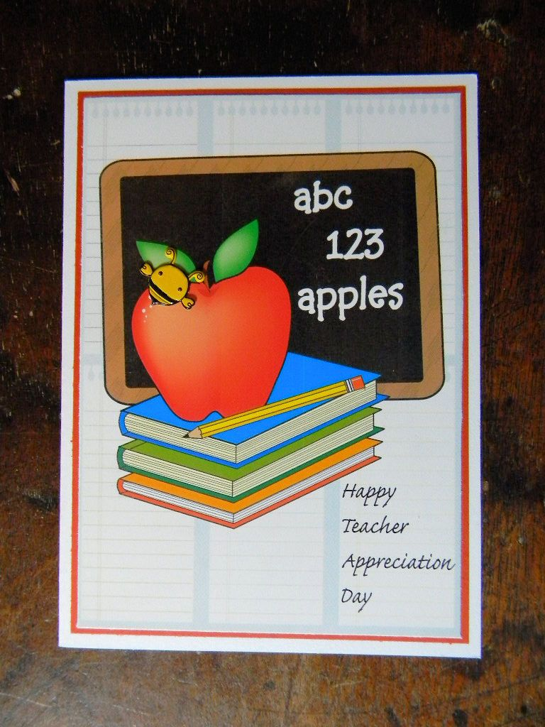Happy teacher appreciation day greeting card happy bee teacher happy teacher appreciation day greeting card happy bee teacher appreciation card teacher blank kristyandbryce Image collections