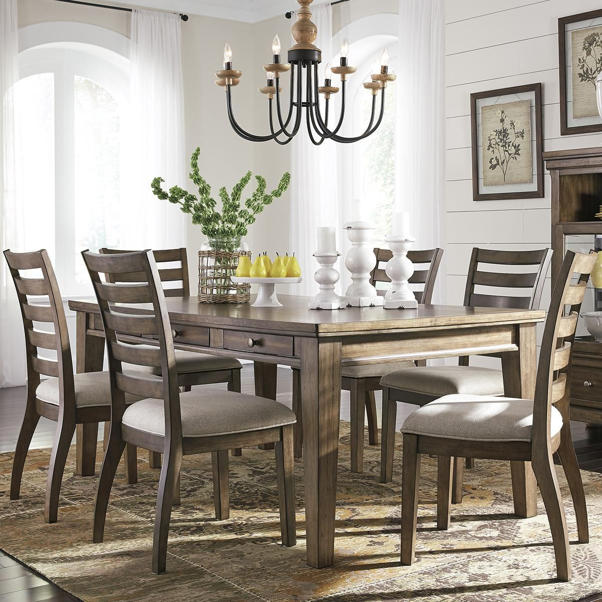 Product Main Image 0 Home Decor 7 Piece Dining Set Dining