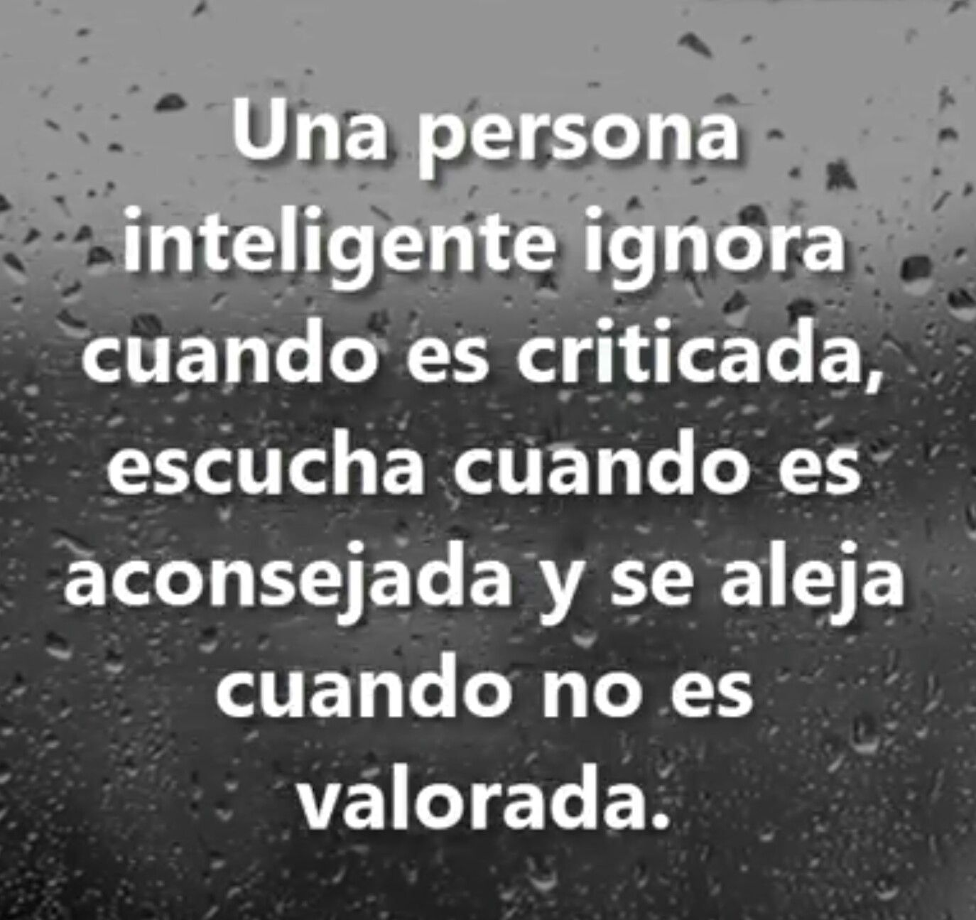Una Persona Inteligente Ignora Cuando Es Criticada