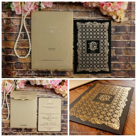 Vinas invitation Wedding invitation Custom invitation Sydney - wedding invitation design surabaya