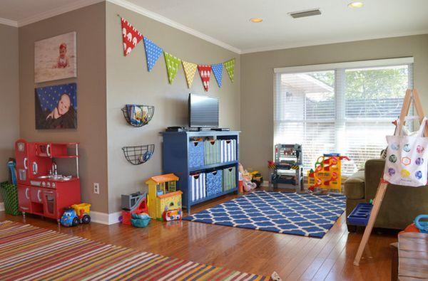 24 Idées décoration de salles de jeux pour enfants | Playrooms, Game ...