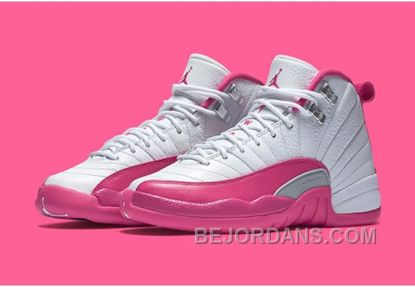 save off 59e22 6c4c3 Air Jordan 12 GS Valentine s Day Shoes White Rose sold by BELLDRESS. Shop  more products from BELLDRESS on Storenvy, the home of independent small  businesses ...