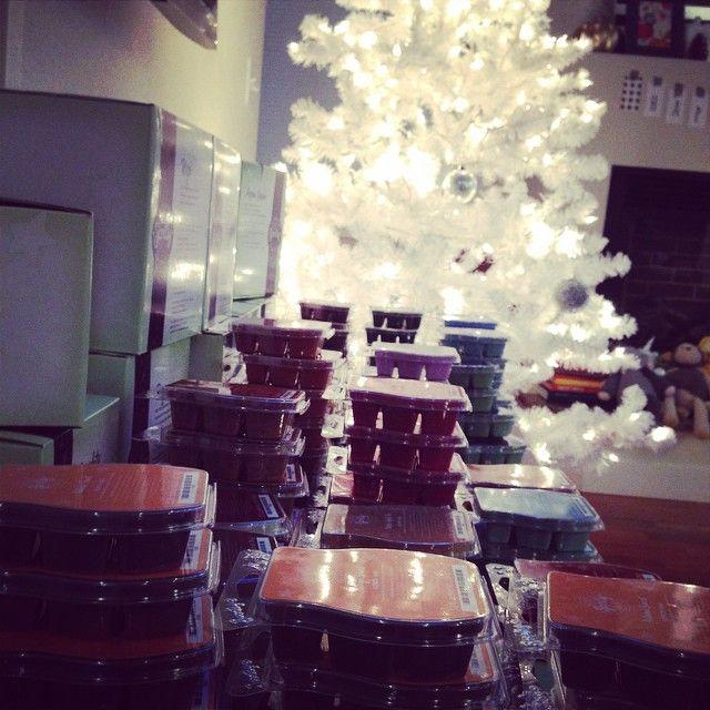 pretty christmas goodies ♥ #scentsy