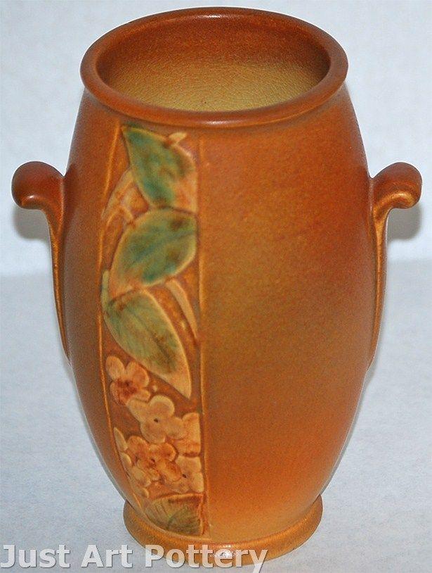Weller Pottery Tutone Art Deco Vase | Art deco vases