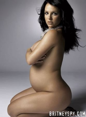 Seems excellent Britney harper naked pregnant spear