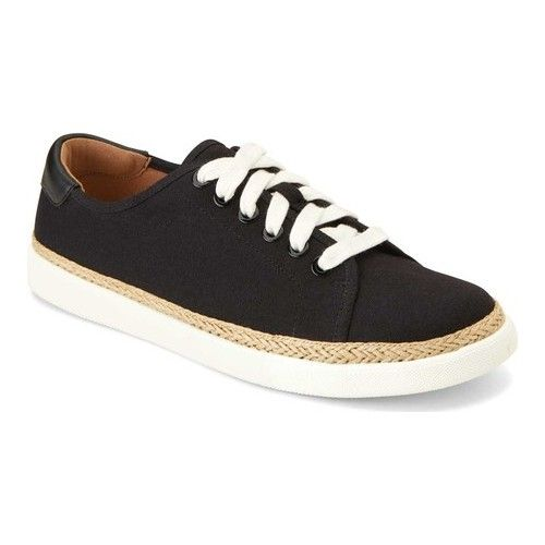 famous brand incredible prices detailing Women's Vionic Hattie Sneaker - Black/Black Canvas Sneakers ...