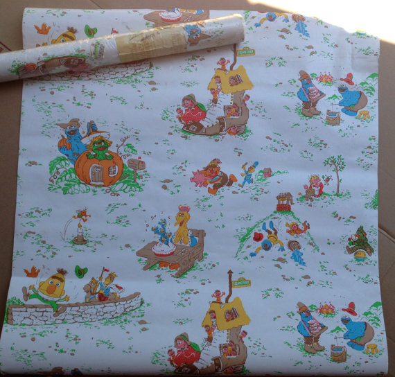 Sesame Street Babies Mother Goose Wallpaper by NorthBayBargains