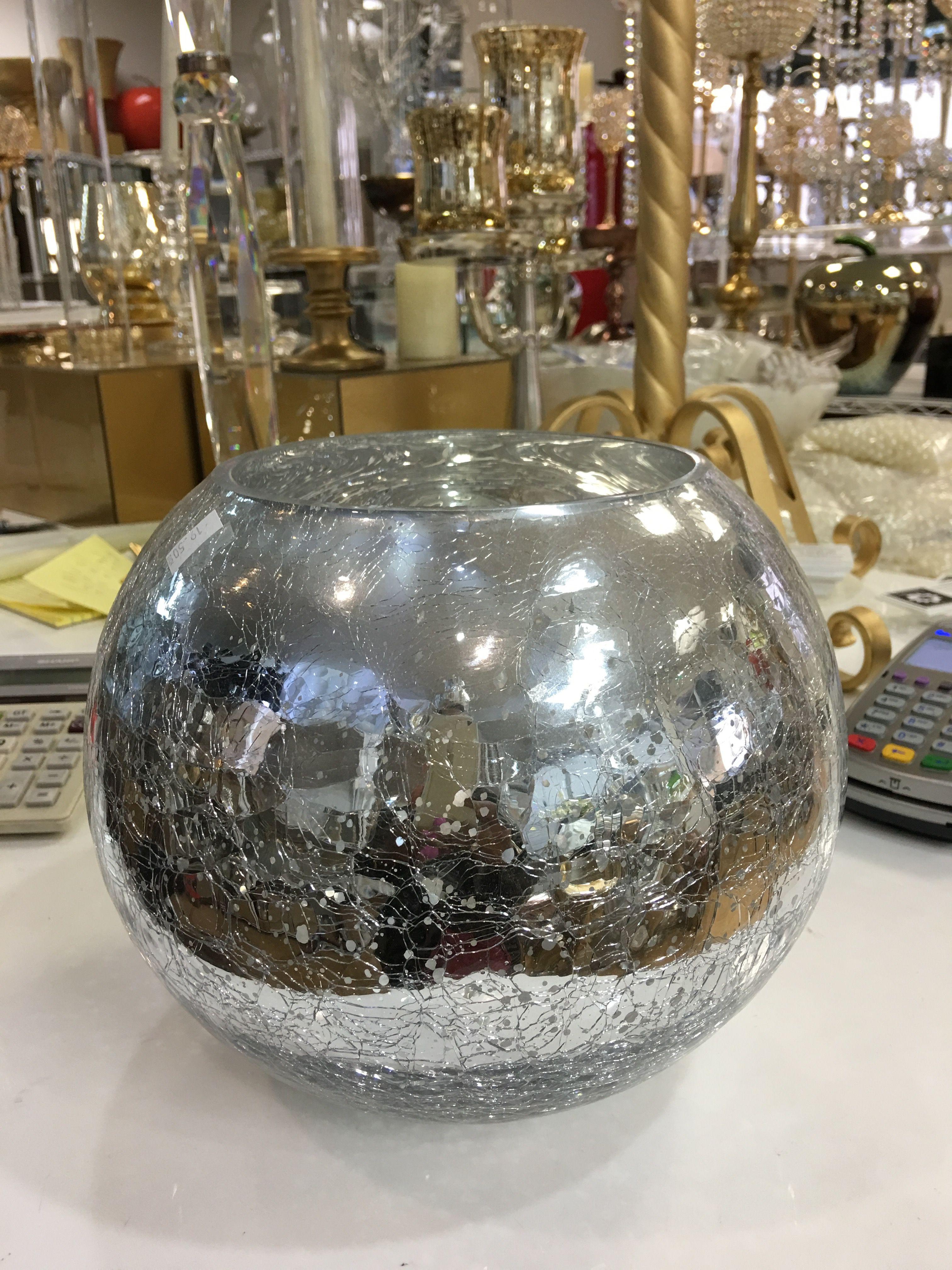 No 7 silver crackle bubble vase premium vase silver and gold no silver crackle bubble vase reviewsmspy