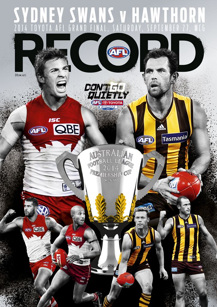 AFL Record Grand Final Edition Newsstand Cover