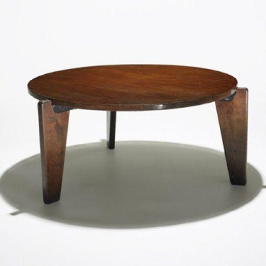 jean prouv gu ridon bas coffee table ateliers jean. Black Bedroom Furniture Sets. Home Design Ideas