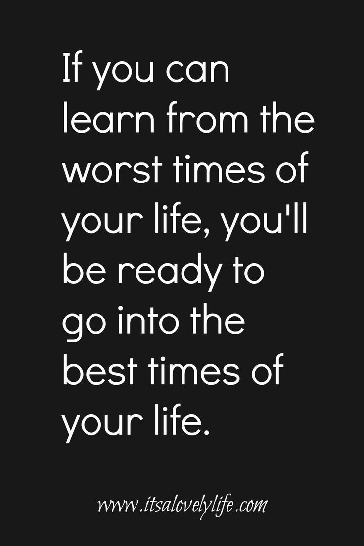Learn from the Worst Times