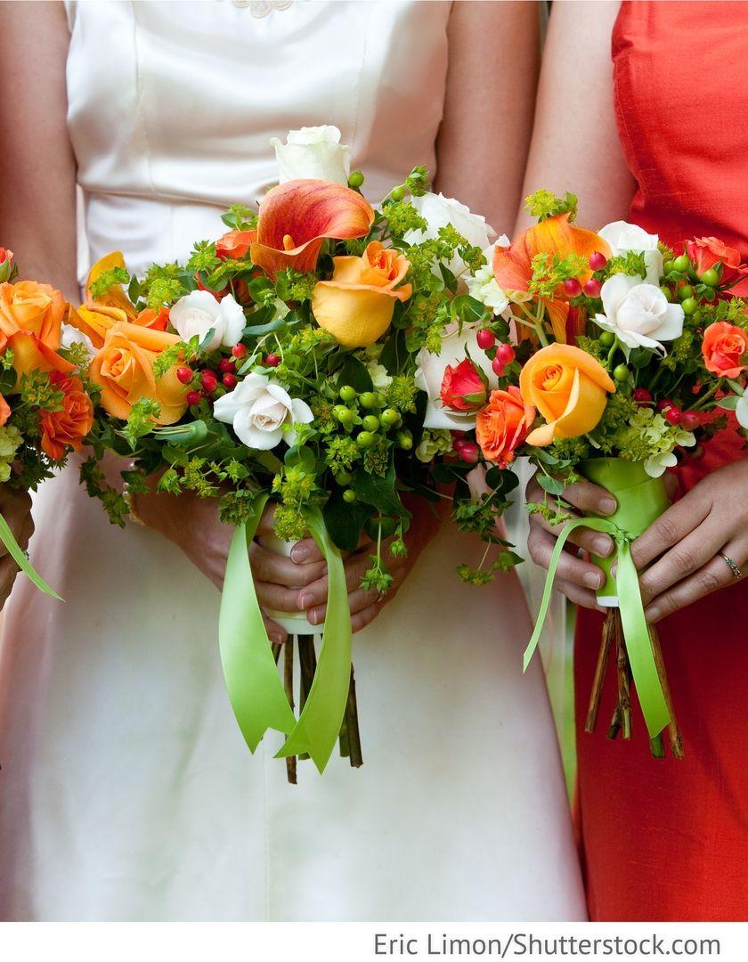 Blumen Fur Brautjungfern Fur Die Hochzeit Brautstrauss Fur Hochzeit