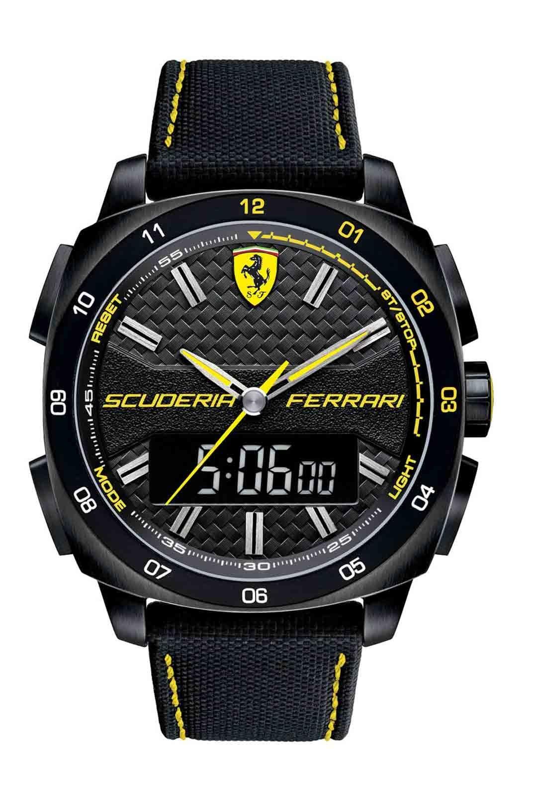 8a62c90eb576 Ferrari homenajea al D50 en su nueva colección de relojes