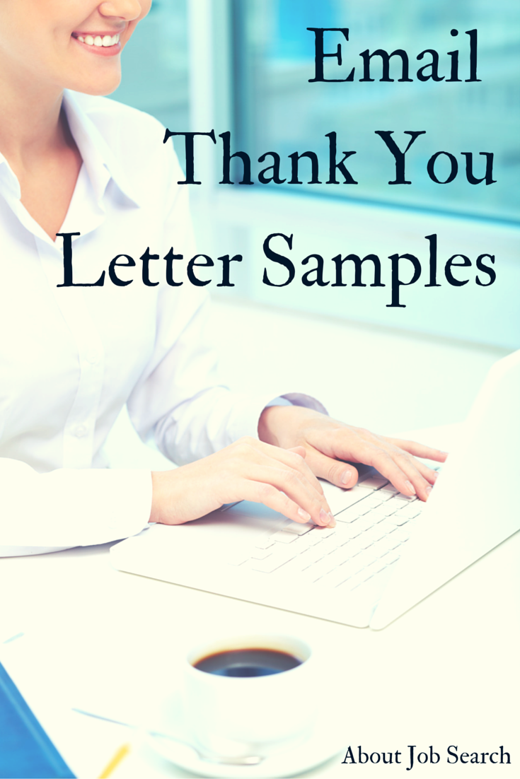thank you email after job interview examples work pinterest