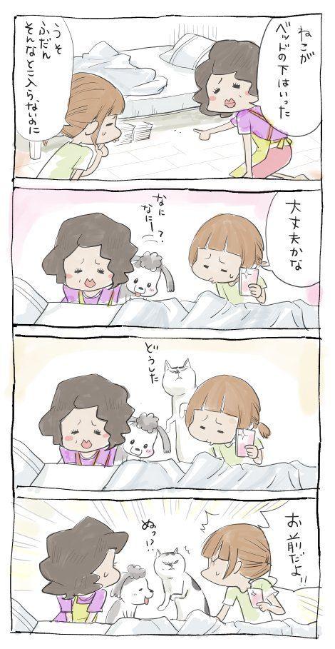 Pin by Asami Shibata on 漫画 | 松本ひで吉, 猫 漫画, 犬と猫