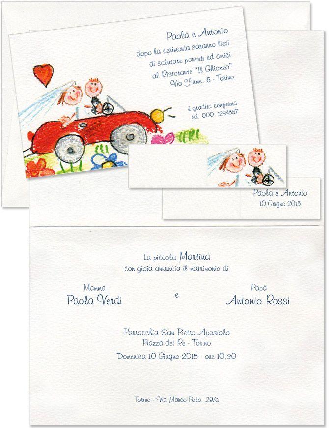 Partecipazioni Matrimonio Genitori.Invito Nozze Matrimonio Civile E Matrimonio