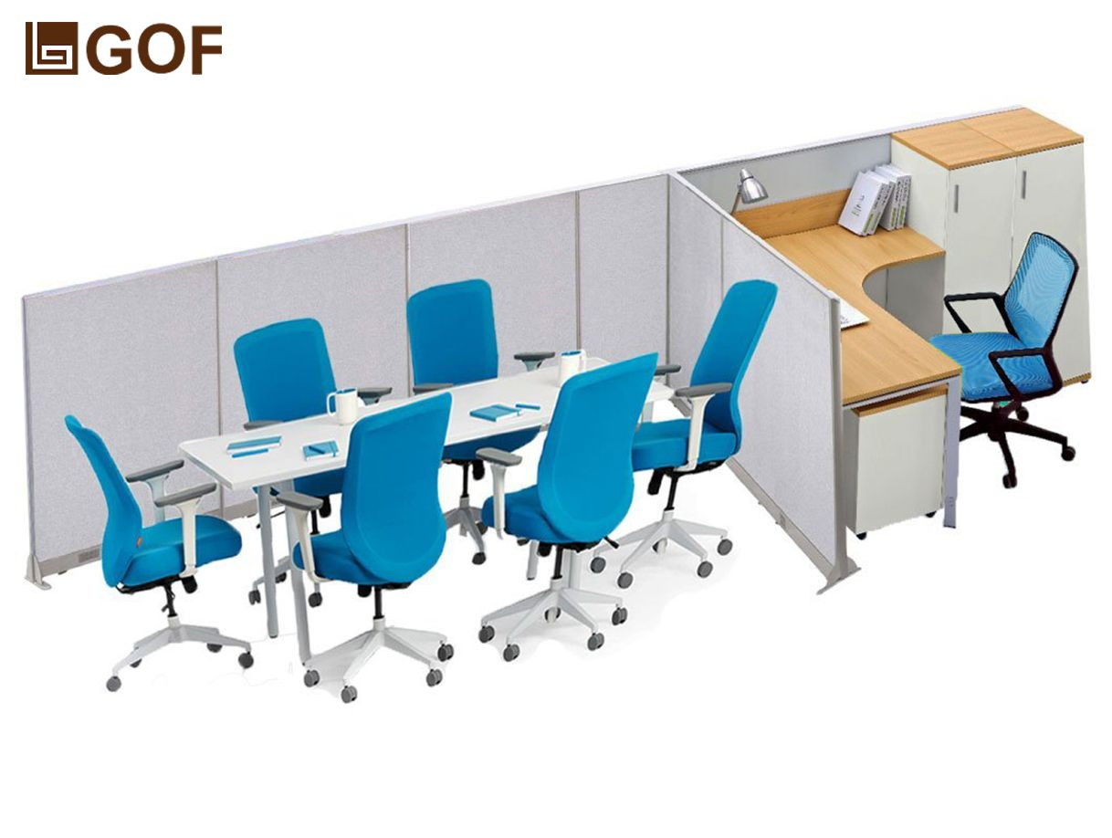 Tshaped Office Partition Cubicle Workstation Tshaped Office - T shaped conference table