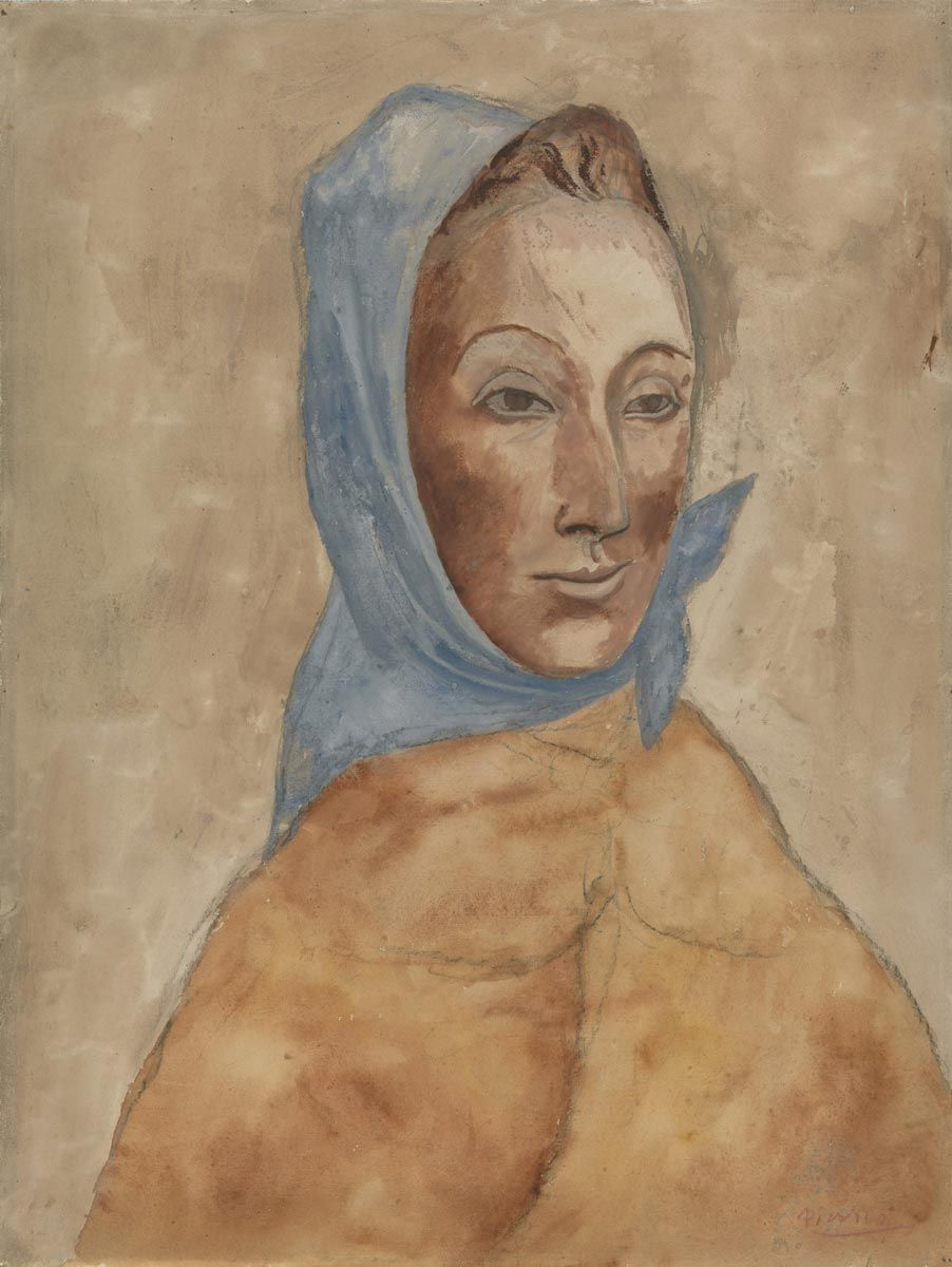 Image result for Woman with Kerchief picasso