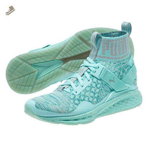 28ccd8c27 Puma Womens Ignite Evoknit Easter Running Shoes - Aruba Blue-Quarry Size 9  - Puma sneakers for women (*Amazon Partner-Link)
