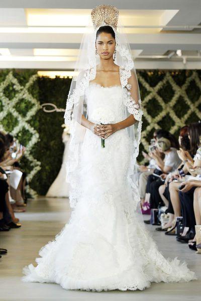 Brautkleider – Vera Wang, Oscar de la Renta & Co. | Wedding dress ...
