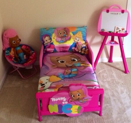 Nickelodeon Bubble Guppies 3d Toddler Bed Toddler Playroom Big Kid Bedroom Toddler Girl Room