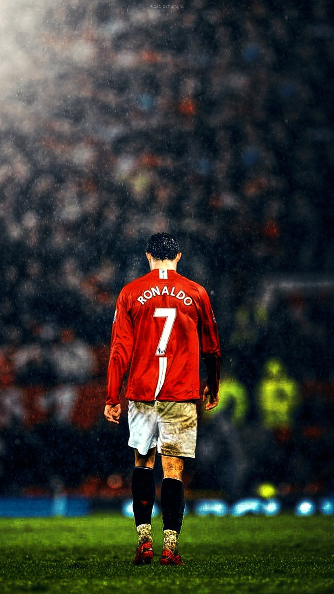 Manunited Uefa Cristiano Ronaldo Manchester United Wallpaper Photo