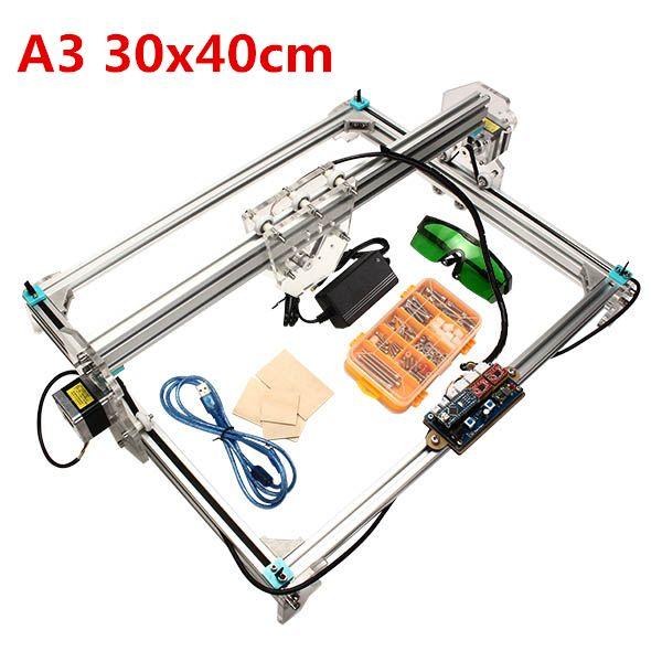A3 30x40cm Desktop Diy Laser Engraver Cutter Engraving