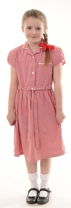 Sandford Hill Primary School - Gingham summer dress | Pro & Con ...