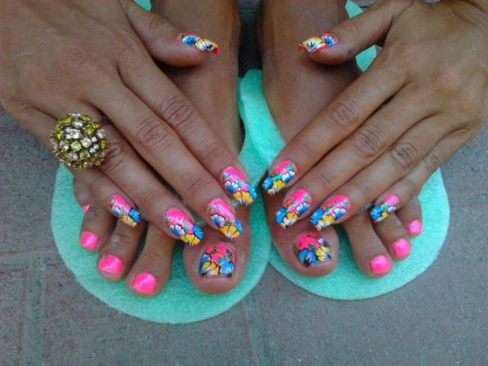 pedicure | Cute Pedi designs♡ | Pinterest