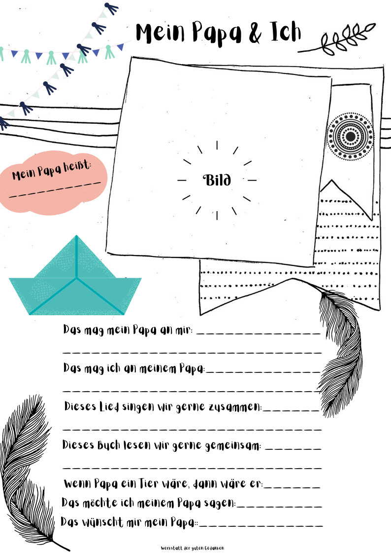 Ideen für Kinder-Ordner in der Kita: