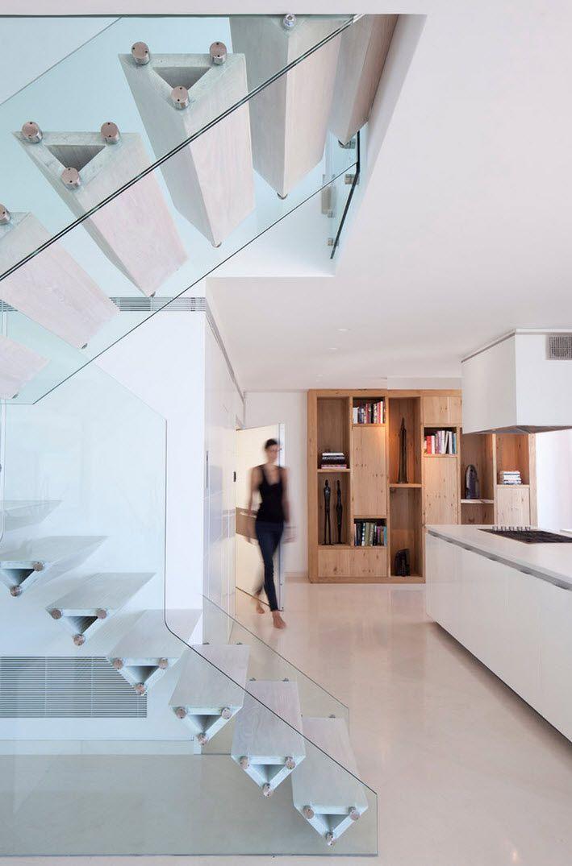 Dise o de escaleras y pasamanos encuentra ideas con los - Escaleras casas modernas ...