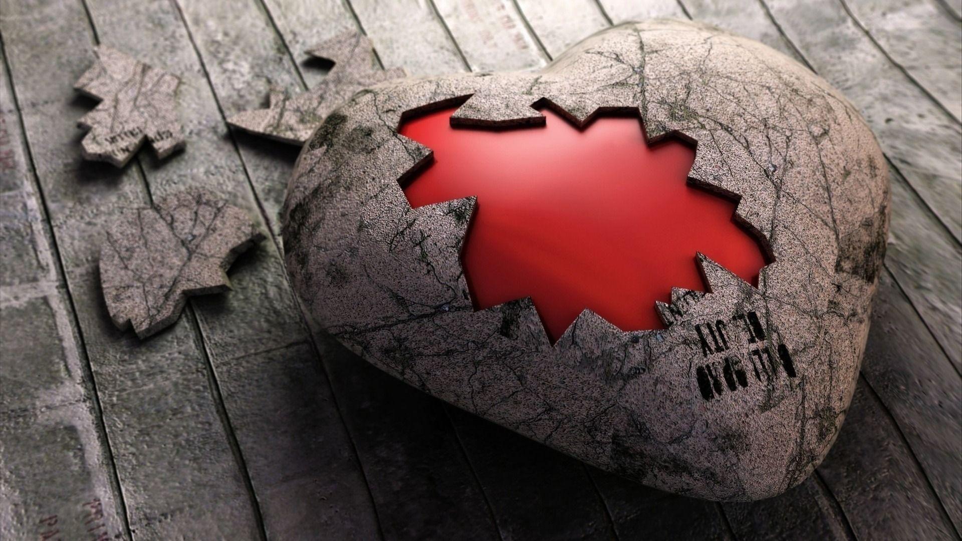 30+ Hình nền trái tim tan vỡ rỉ máu đẹp mê ly