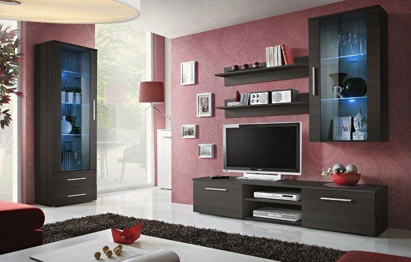 Bellis 3 Living room wall units, Modern wall units and Modern wall
