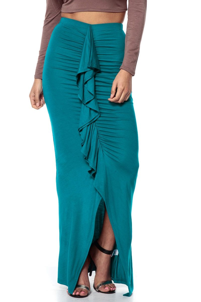 Looks - Wear to what with dark teal skirt video