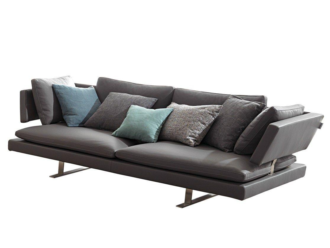 misuraemme furniture. Divano Imbottito In Pelle Borderline Collezione MisuraEmme By | Design Mauro Lipparini Misuraemme Furniture U