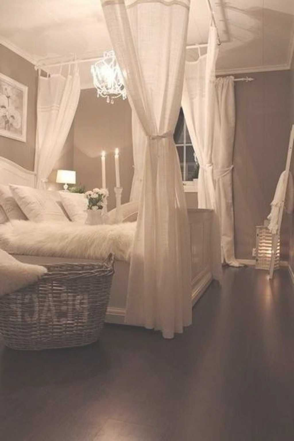 A Romantic Bedroom Is Soft Soft Color Soft Fabric Soft Lines