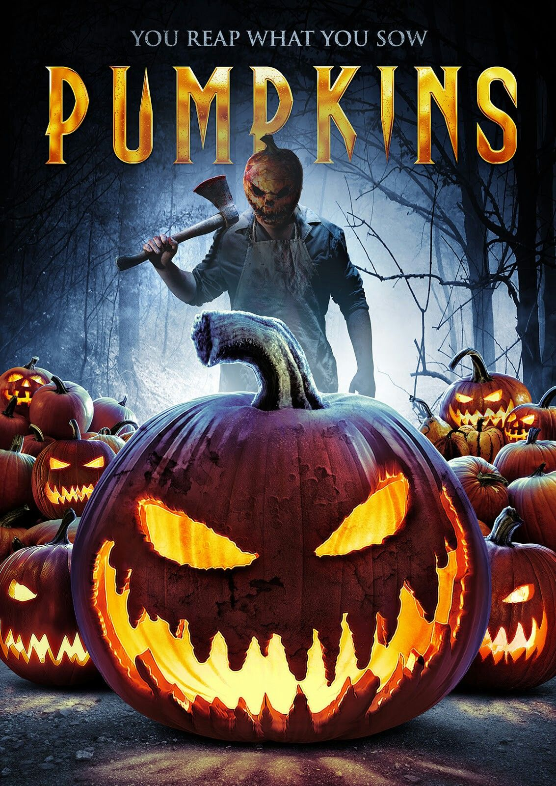 Pumpkins (2018) in 2020 Scary movies, Horror posters, Horror