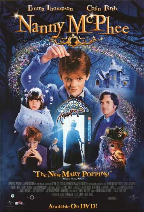 NANNY McPHEE POSTER ] The movie came out in 2005 and I still watch ...