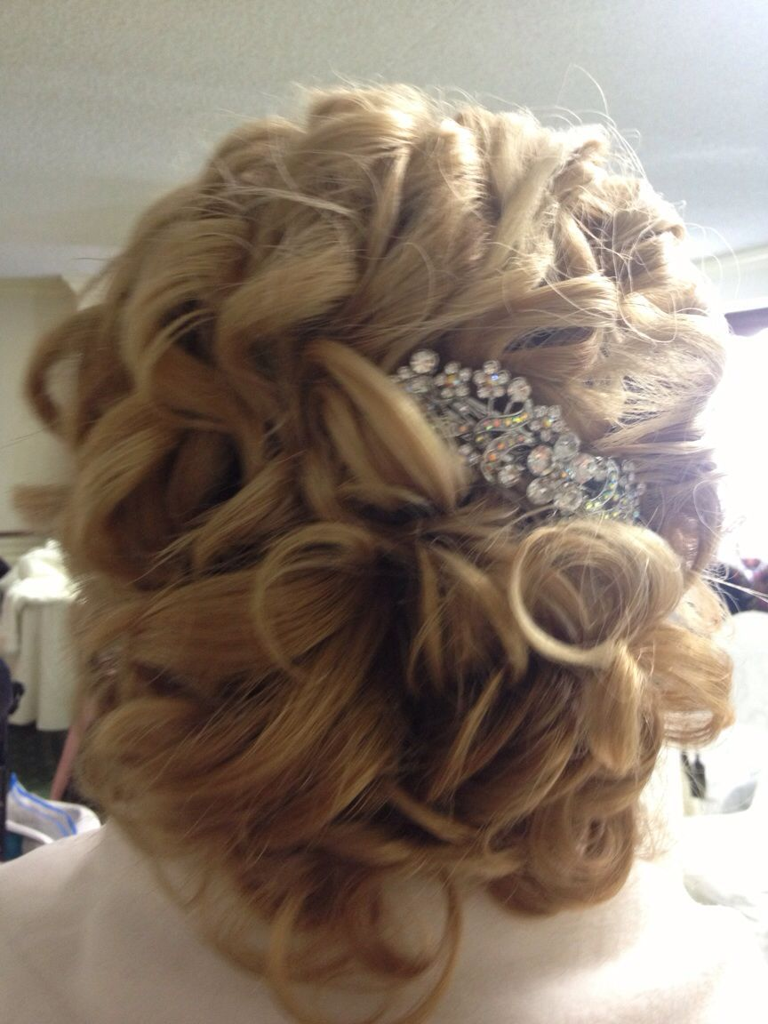 mother of the bride hair!- i like the rhinestone barrette or clip
