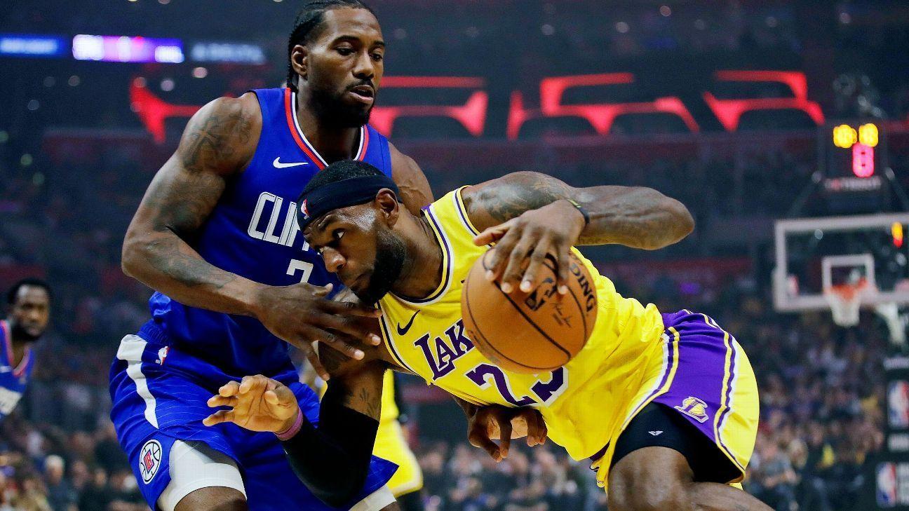 JazzPels, LakersClipper to tip off NBA restart NBA
