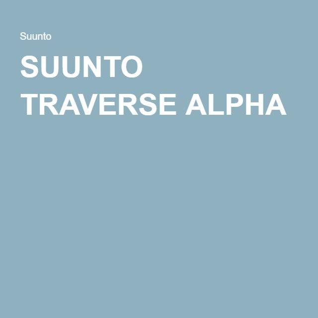 SUUNTO TRAVERSE ALPHA