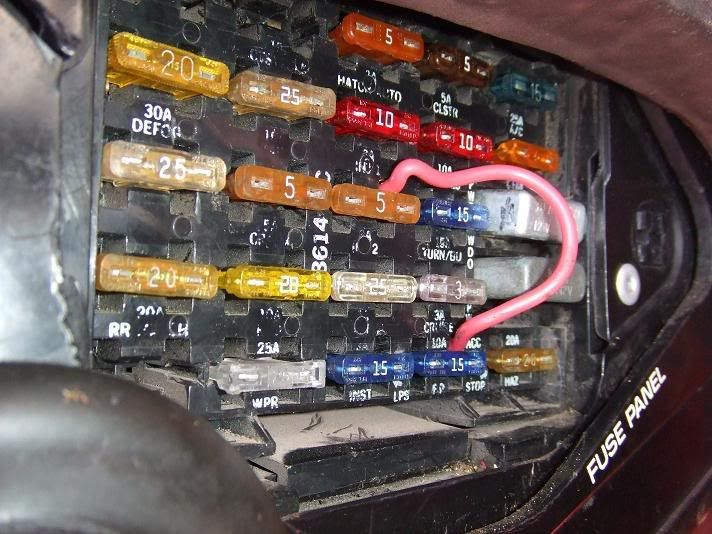 Fuel Pump Wiring Disaster Corvette Forum Fuse Box Disasters Fuel