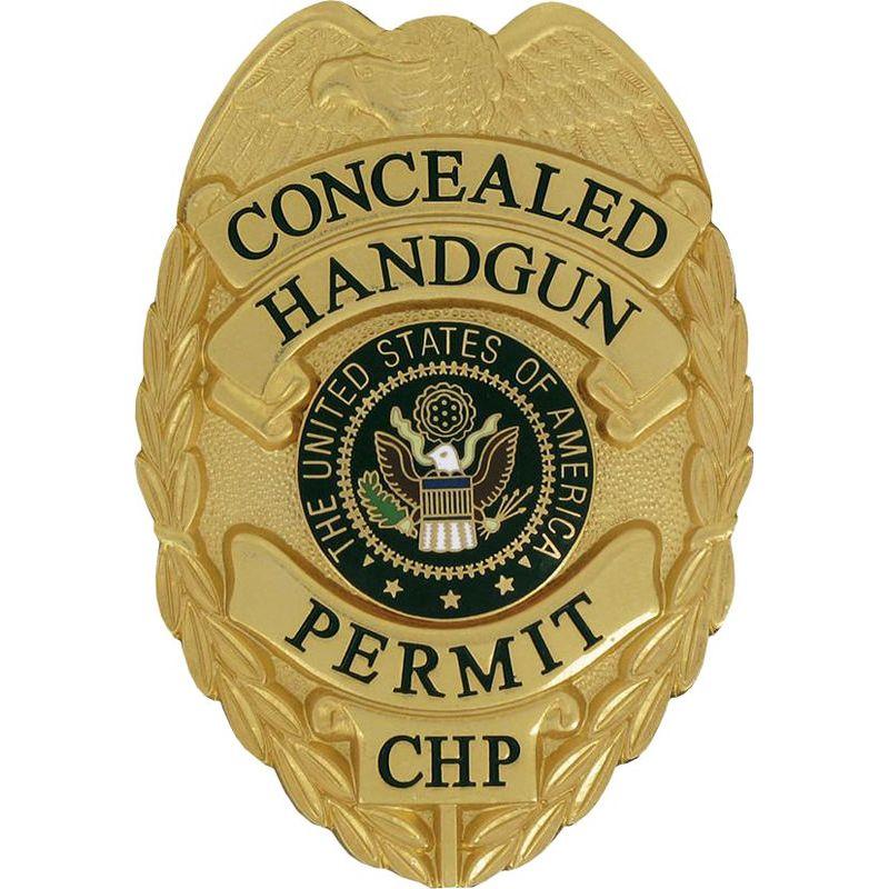 Concealed handgun permit badge badge free badges hand guns