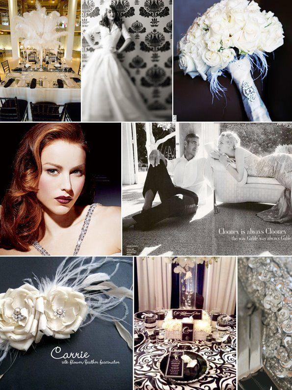 Old Hollywood Hollywood Glam Wedding Vintage Hollywood Wedding